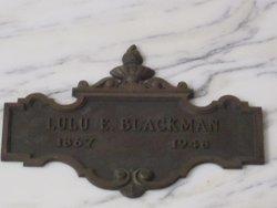Lulu Estella <i>Carr</i> Blackman