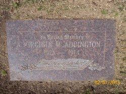 Virginia Maxine <i>Smith</i> Addington