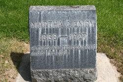 Martha Catherine <i>Hoskins</i> Emry