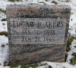Edgar B Akers