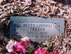 Betty <i>Jones</i> Treece