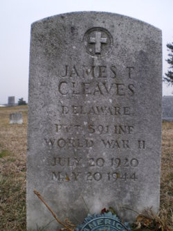Pvt James T Cleaves