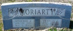 Sgt Francis J Moriarty