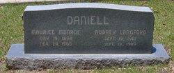 Audrey <i>Langford</i> Daniell