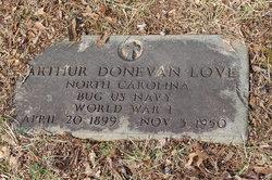 Authur Donovan Love