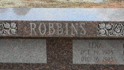 Lena E. <i>Hays</i> Robbins