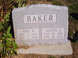 Alletta Jane <i>Johnson</i> Baker