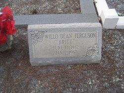 Willo Dean <i>Britt</i> Ferguson