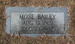 Moses Bailey
