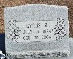Cyrus A Cy Bell