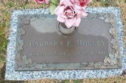 Barbara E Holley