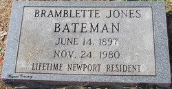 Bramblette Jones Bateman