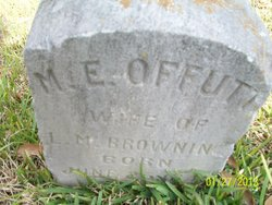 M. E <i>Offutt</i> Browning