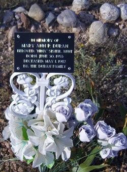 Mary Ann <i>P</i> Duran