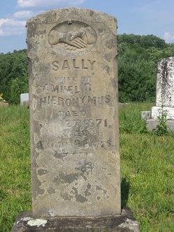Sarah Sally <i>White</i> Hieronymus