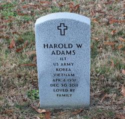 Harold Wallace Adams