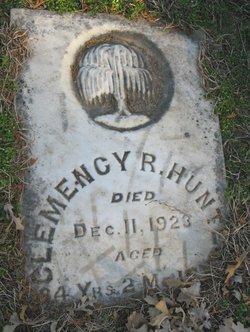Clemency R Hunter