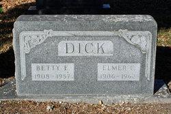 Elmer Clark Dick