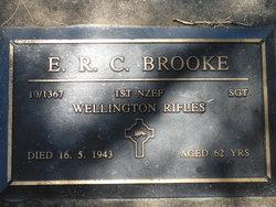 Sgt Ephraim Robert Claude Brooke