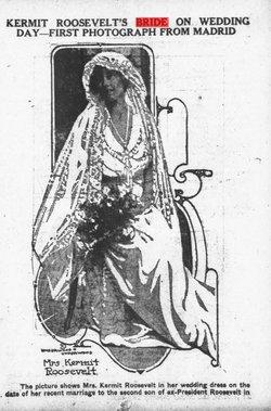 Belle Wyatt <i>Roosevelt</i> Palfrey