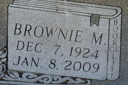 Brownie <i>Mangrum</i> Adams