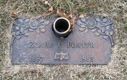 Zoahe P. Foster