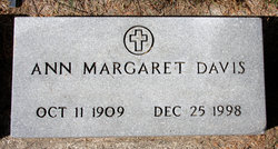Ann Margaret <i>Brown</i> Davis