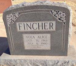 Nola Alice <i>Townsend</i> Fincher