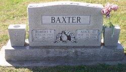 Alice <i>Fidler</i> Baxter