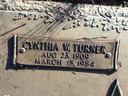 Cynthia W <i>Turner</i> Agnew