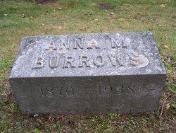 Anna M. <i>Vincent</i> Burrows