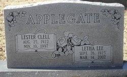 Letha Lee <i>Fitzwater</i> Applegate