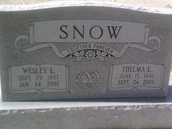 Wesley L Snow