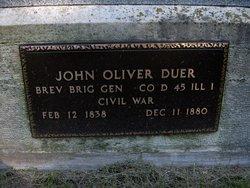 Gen John O. Duer