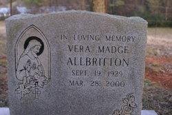 Vera Madge <i>Tolbert</i> Allbritton