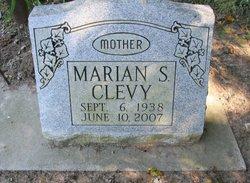 Marian Sue <i>McKee</i> Clevy
