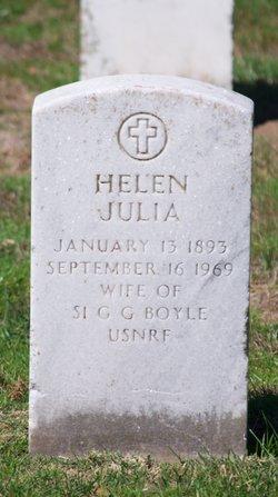 Helen Julia Boyle