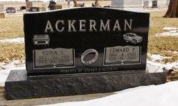 Edna Luella <i>Nelson</i> Ackerman