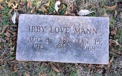 Irby Love Mann