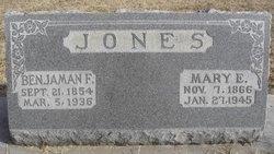 Benjaman F Jones