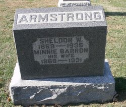 Minnie Laura <i>Barron</i> Armstrong