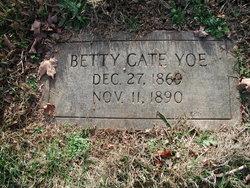 Betty <i>Cate</i> Yoe