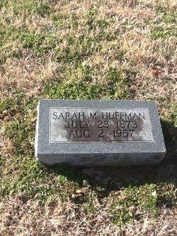 Sarah Margaret <i>Hartsfield</i> Huffman