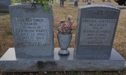 Adeline Gertrude <i>McCaulley</i> Hardy