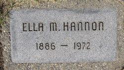 Ella M Hannon
