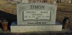 Thelma Marie <i>Mathews</i> Simon