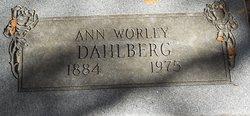 Ann Louise <i>Crutcher</i> Dahlberg