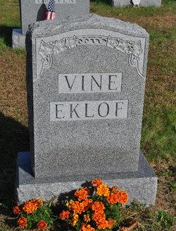 Marion E. <i>Vine</i> Eklof