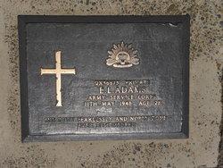 Pvt Edgar Lindsay Adams