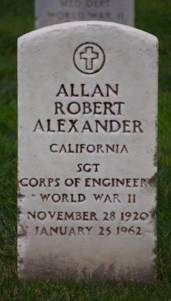 Allan Robert Alexander